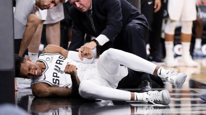 """Bertāna """"Spurs"""" paliek bez pamata saspēlnieka - Marejam krustenisko saišu plīsums"""