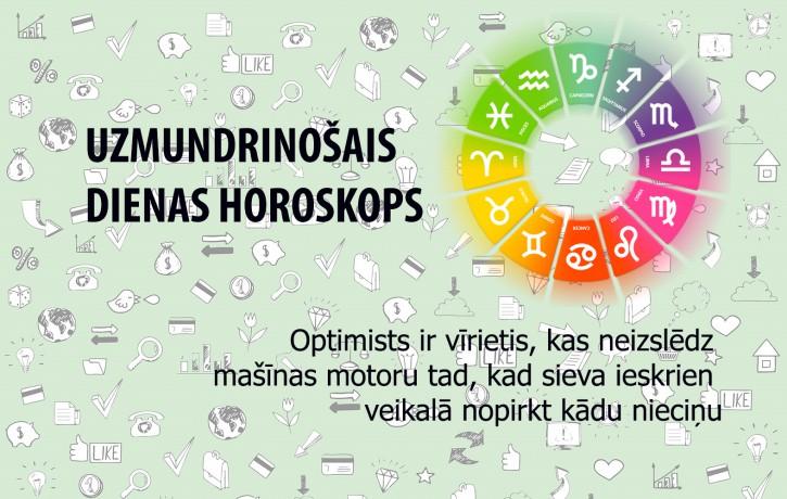 Uzmundrinošie horoskopi 1. janvārim
