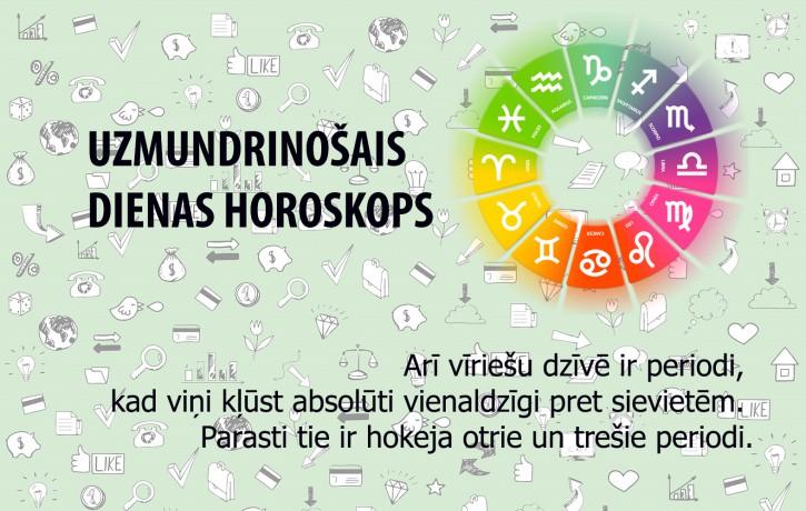 Uzmundrinošie horoskopi 2. janvārim