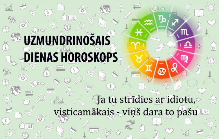 Uzmundrinošie horoskopi 5. janvārim