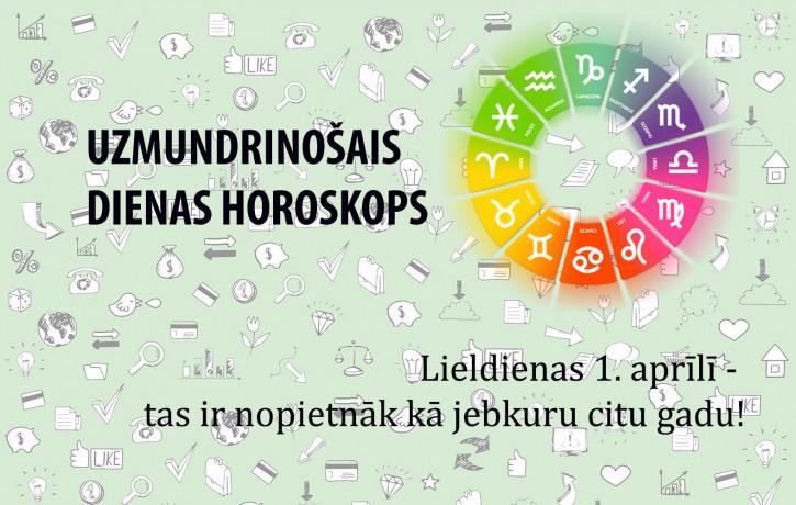 Horoskopi un anekdotes 1. aprīlim visām zodiaka zīmēm