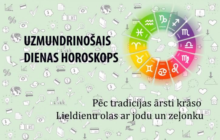 Uzmundrinošie horoskopi 31. martam visām zodiaka zīmēm