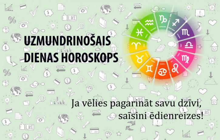 Horoskopi veiksmīgai dienai 18. maijam