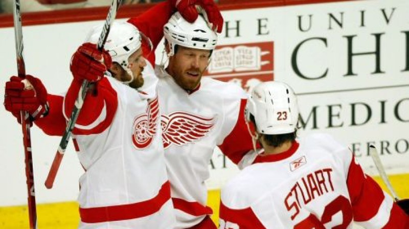 """Red Wings"" hokejisti