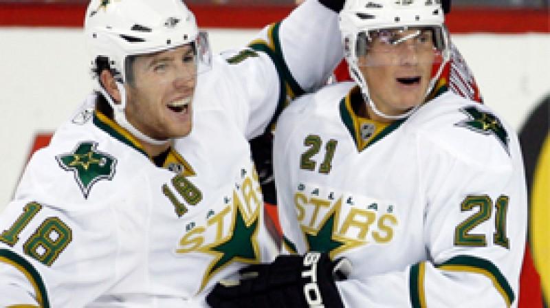 """Dalasas """"Stars"""" hokejisti Foto: AP"""