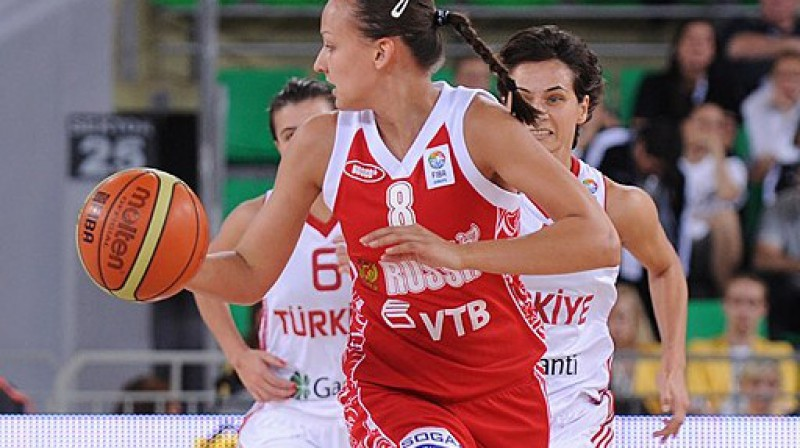 Krievija centīsies aizbēgt no Turcijas Foto: FIBA Europe