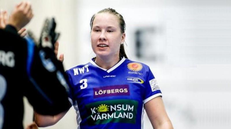 Luīze Biļinska   Foto: Tommy Andersson / vf.se