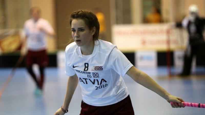 Monika Džigure Foto: Ritvars Raits, floorball.lv