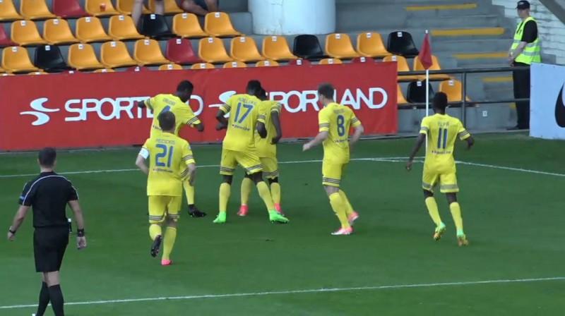 """Ventspils"" futbolisti svin vārtu guvumu"