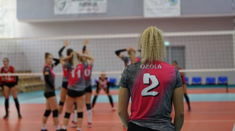 Vicelīderes darbībā Foto: Latvijas Volejbola federācija