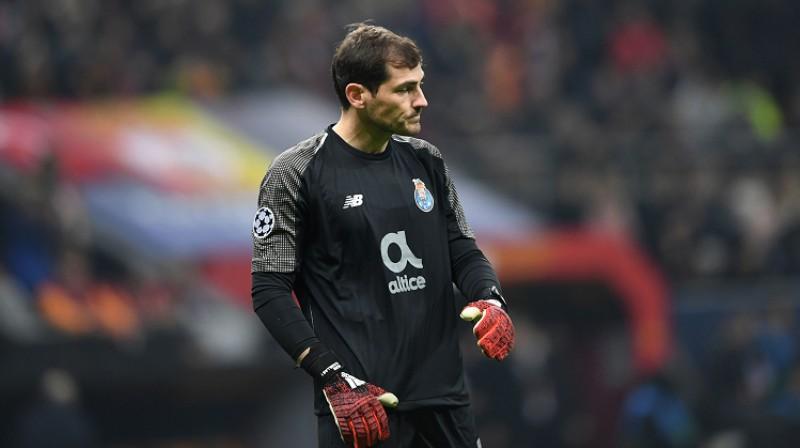 Ikers Kasiljass. Foto: AFP/Scanpix