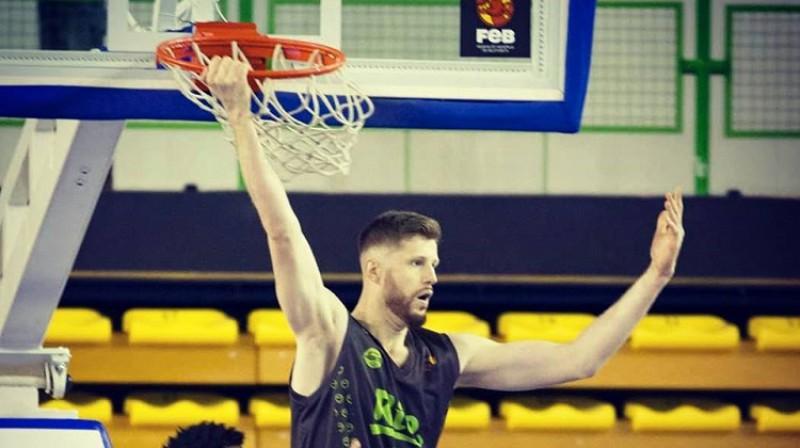 """Dāvis Rozītis: desmitā uzvara """"LEB Oro"""" līgā. Foto: Ourense Baloncesto"""