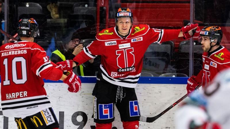 Rodrigo Ābols. Foto: Orebro Hockey.