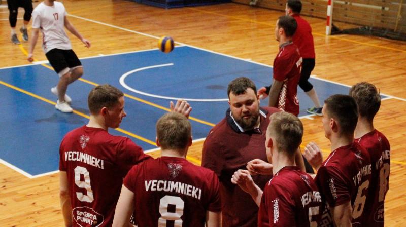 """NVL1 līderi Vecumnieku puiši Foto: VK """"Vecumnieki"""""""