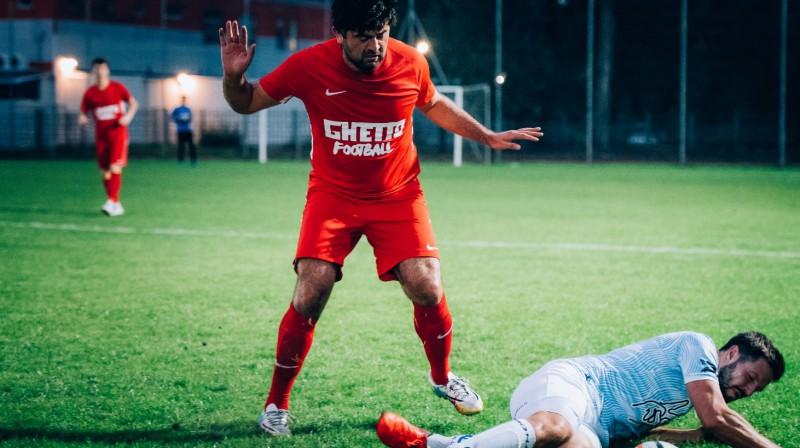 Asifs Ibragimovs Foto: Alex Puskins/Ghetto Football