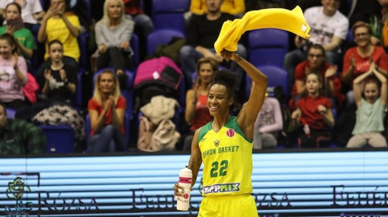 """Ivonna Tērnere un """"Sopron Basket"""": ceļazīme uz Eirolīgas """"play-off"""". Foto: FIBA"""
