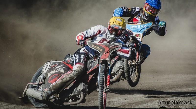 Timo Lahti sezonu sāka ar uzvaru.
