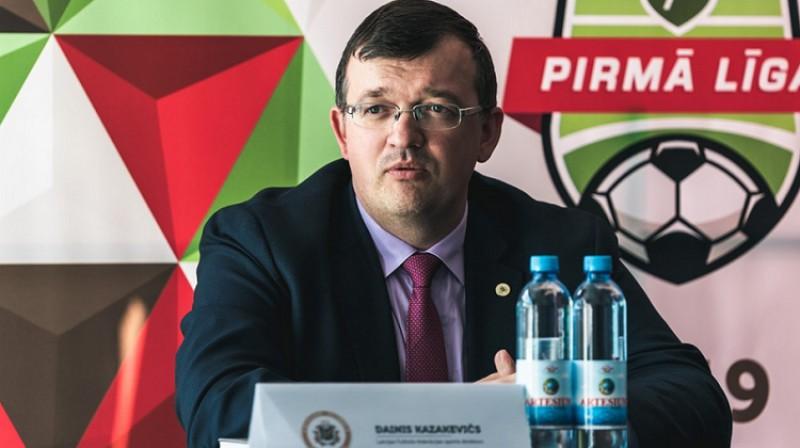 Dainis Kazakevičs. Foto: LFF.lv