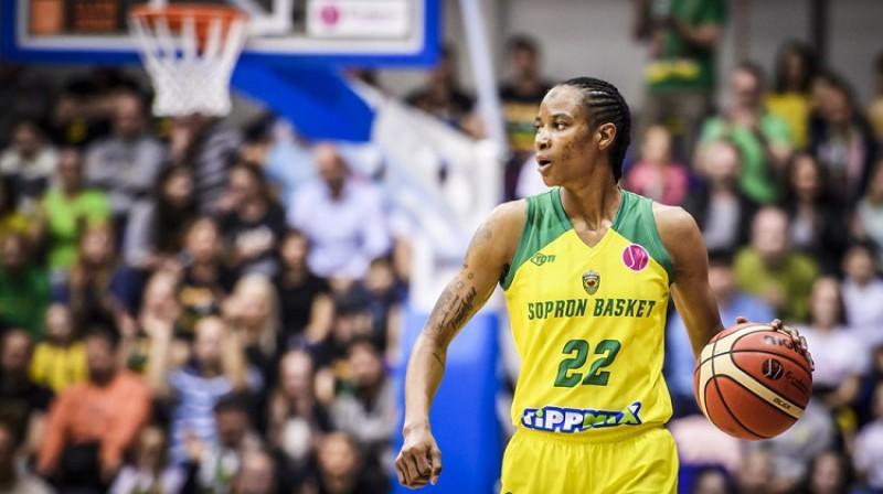 """Ivonna Tērnere: divkārtēja Eirolīgas """"Četru fināla"""" dalībniece. Foto: FIBA"""