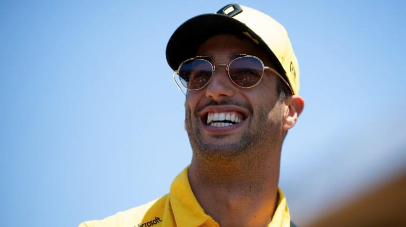 Daniels Rikjardo. Foto: Renault F1 Team