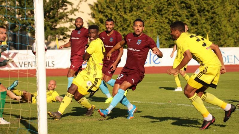 """""""Ventspils"""" pret Maltas """"Gżira United"""". Foto: FK Ventspils"""