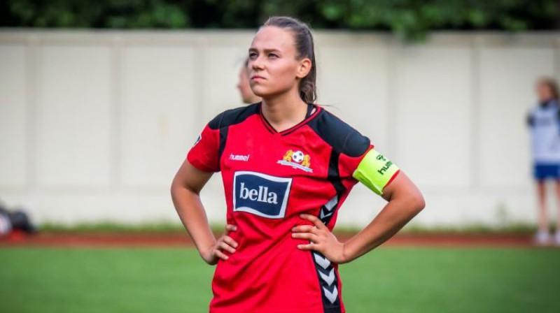 Viktorija Zaičikova. Foto: Rīgas Futbola skola
