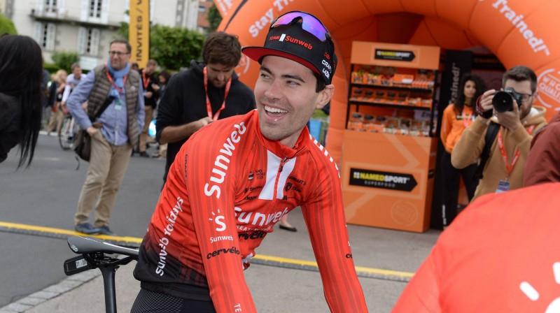 Toms Dumolēns. Foto: imago images/Scanpix