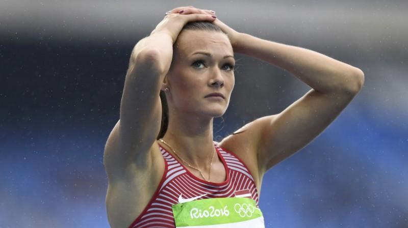 Laura Ikauniece. Foto: Reuters/Scanpix
