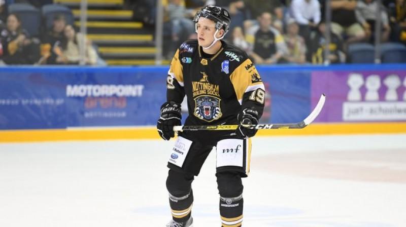 Georgs Golovkovs. Foto: Nottingham Panthers