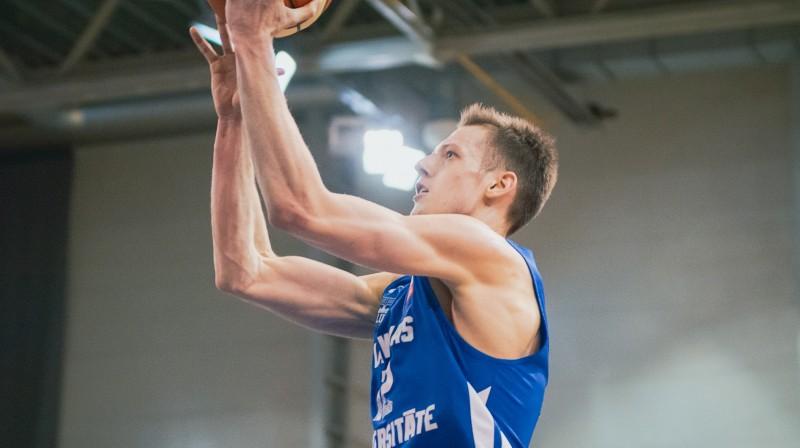 Kārlis Žunda. Foto: LU basketbols