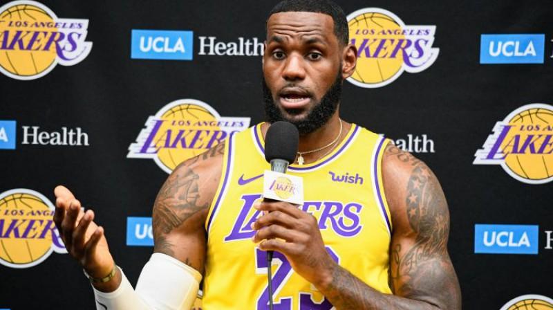 Lebrons Džeimss. Foto: USA Today Sports/Scanpix
