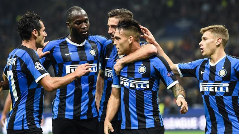 """Milānas """"Inter"""". Foto: imago images (Scanpix)"""