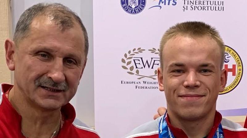 Eduards Andruškevičs un Ritvars Suharevs. Foto: instagram.com/suharevs