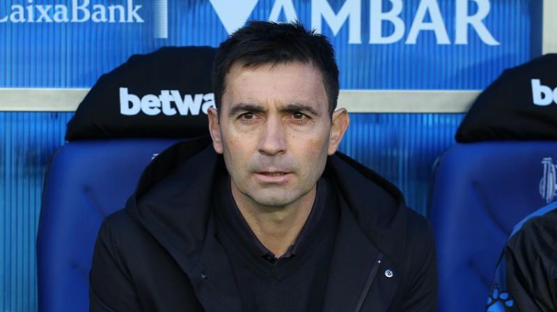 """""""Alaves"""" treneris Asjers Garitano netika galā ar ceturtās līgas komandu, bet rīt viesos jātiekas ar """"Barcelona"""". Foto: ZUMAPRESS.com/Scanpix"""