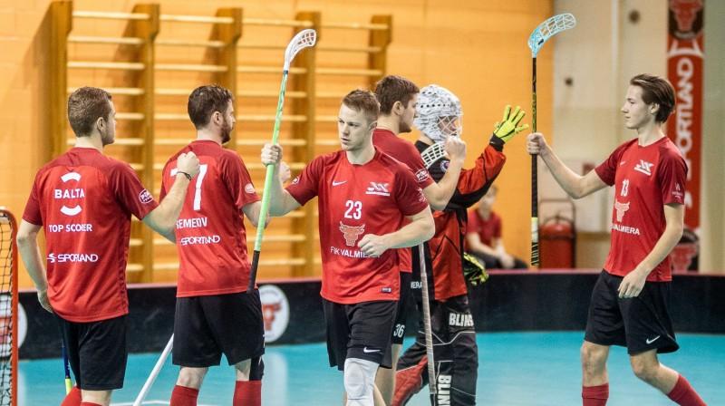 """FBK Valmiera"". Foto: Raivo Sarelainens, floorball.lv"