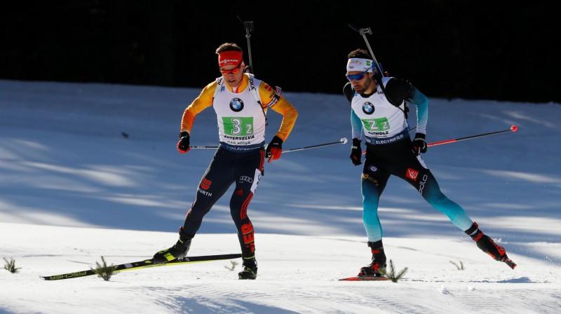 Filips Horns un Martēns Furkads. Foto: Reuters/Scanpix