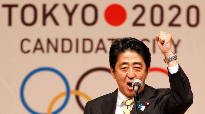 Japānas premjerministrs Šinzo Abe. Foto: Reuters/Scanpix