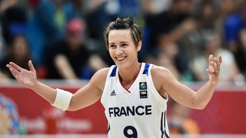 Selīna Dumerka 2017. gada Eiropas čempionātā Prāgā. Foto: FIBA