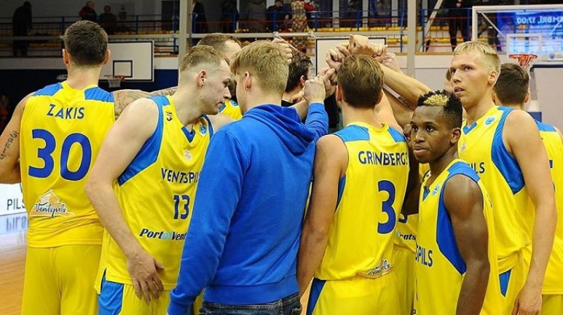 """BK """"Ventspils"""": desmit tituli Latvijas basketbola līgā. Foto: BK Ventspils"""
