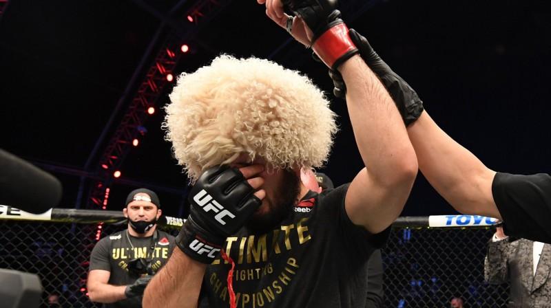 Habibs Nurmagomedovs. Foto: UFC