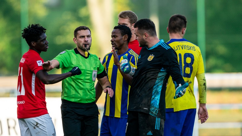 Vitālijs Spasjonņikovs. Foto: Sanita Ieva Sparāne/FK Spartaks Jūrmala