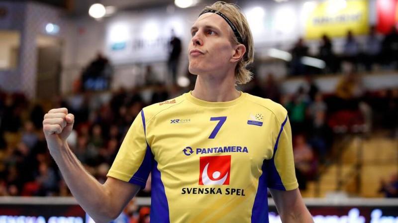 Kims Nilsons. Foto: SVT Sport