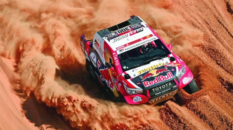 Nāsirs El-Atija. Foto: Toyota Gazoo Racing SA