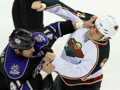 """""""Wild"""" uzbrucējam Bugārdam piecu spēļu diskvalifikācija"""