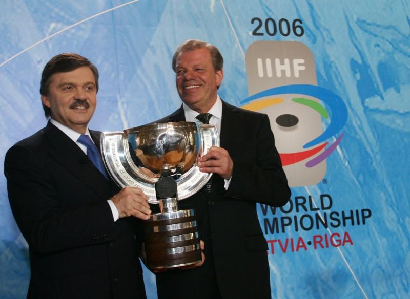 """Lipmans: """"Hokejs ir mūsu nacionālais sporta veids"""""""