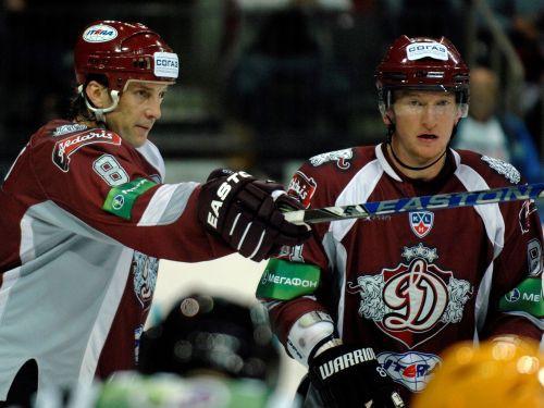 Ozoliņš un Hosa starp KHL nedēļas labākajiem