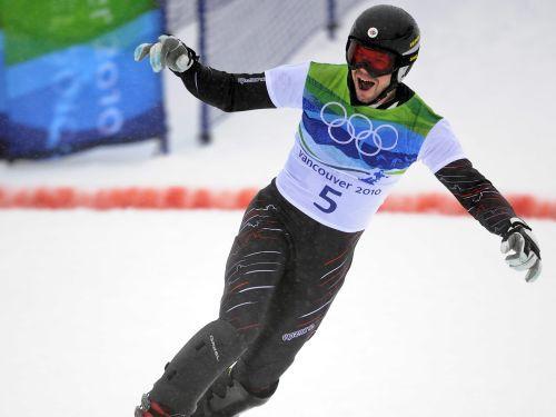 Kanādai zelts snovborda paralēlajā milzu slalomā