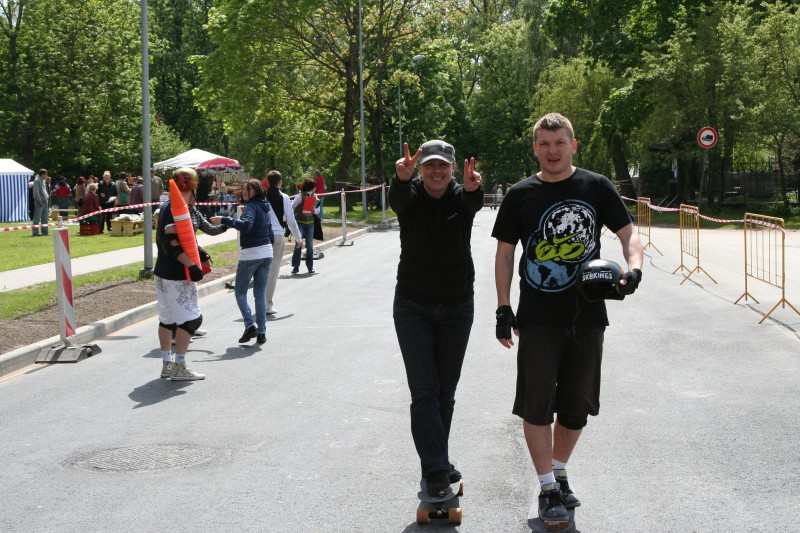 Lienīte Skaraine pasaules čempione, Jānis Kuzmins vicečempions