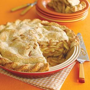 Apgāztā Mārtiņdienas ābolu kūka