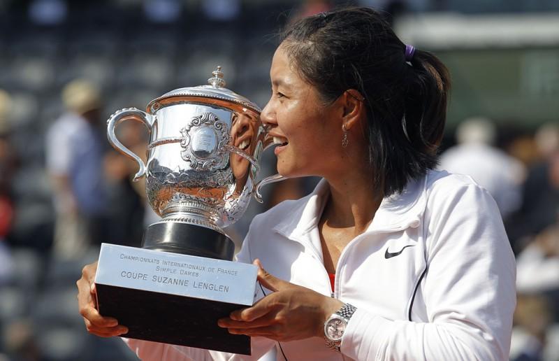 """""""French Open"""" dāmu vienspēļu turnīrā vēsturisks triumfs Lī"""